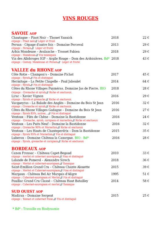 restaurant les 3 diables à Valmeinier